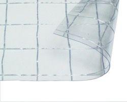 オーダーメイド ビニールカーテン 0.3mm厚 幅10x高5m 透明糸入耐候【日中製作所レール】 03087074-001【03087074-001】[4549396870744][4549396870744]