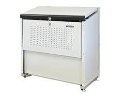 【送料無料】CKE-1000 ゴミ収納庫クリーンストッカー CKE型 スチール製【ダイケン】 03108005-001