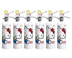 HK1-WF ハローキティ住宅消火器(ホワイトフェンス)6本セット【初田製作所】 03110017-001【03110017-001】[4994152002370]