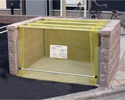 【送料無料】CKA-1616 ゴミ収納庫クリーンストッカー CKA型ネットタイプ【ダイケン】 03108003-001