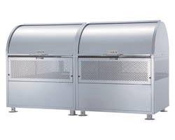 【送料無料】CKM-TN180R ゴミ収納庫クリーンストッカー ステンレス製【ダイケン】 03108015-001