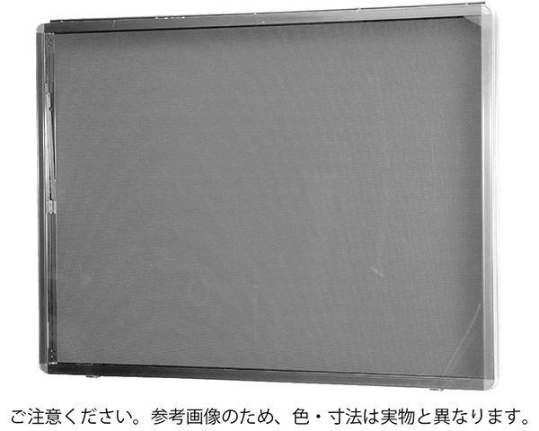アルミ屋外掲示板ターンキャッチ錠式 壁付オープン型シルバー(レザーグリーン) SK-8040N-1-SLC【神栄ホームクリエイト】※返品不可 03042631-001【03042631-001】[4950536426316]