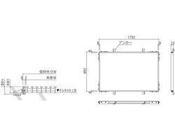 玄関マット用受枠 SK-GMU1-6 03044800-001【03044800-001】[4950536448004]