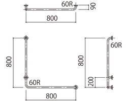 補助手摺(樹脂被覆付) 標準取付タイプ(B・D・G)右勝手グリーン SK-295RJ-800x800 03044029-001【03044029-001】[4950536440299]