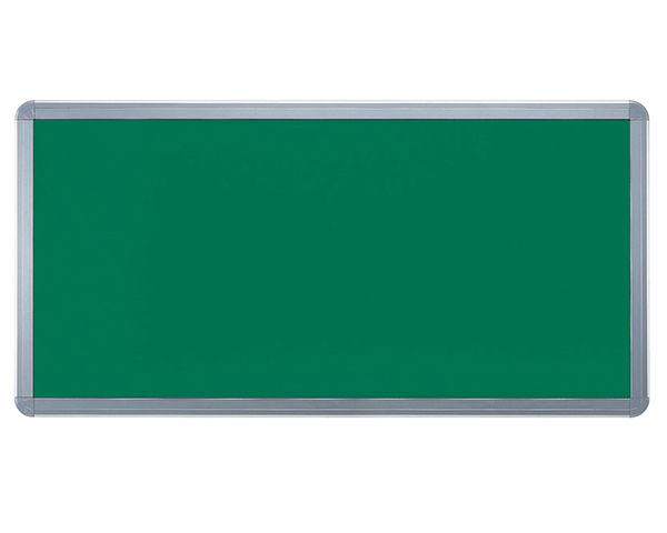 アルミ掲示板(フレーム取外し型) レザーグリーン貼シルバー SMS-1062【神栄ホームクリエイト】※返品不可 03042402-001【03042402-001】[4950536424022]