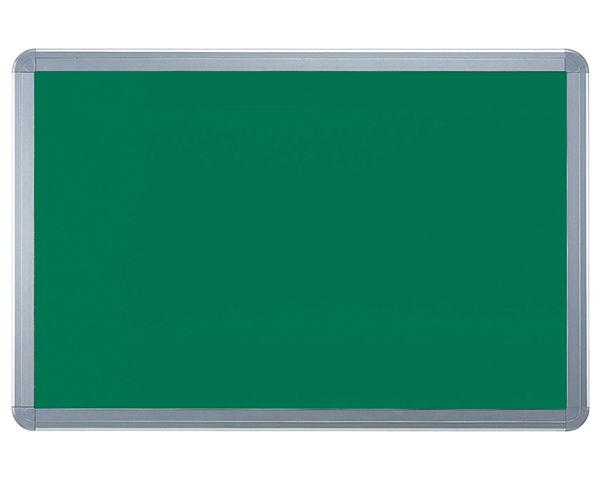 アルミ掲示板(フレーム取外し型) レザーグリーン貼シルバー SMS-1061【神栄ホームクリエイト】※返品不可 03042392-001【03042392-001】[4950536423926]