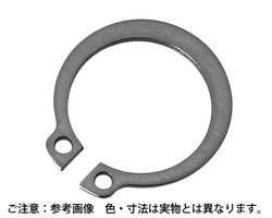 【送料無料】ステンレス C型止輪 (軸用) サイズM10 入数2000【ハイロジック】 03133414-001