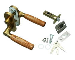 【送料無料】ハイロジック 小判座レバー錠 3本キー NP-37W-ML-SG [Tools & Hardware] 00776641-001【00776641-001】[4960983227527]