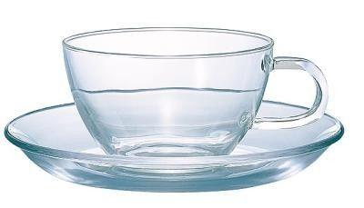【日本製】 230ml ハーブティーなどに定番アイテム!耐熱ティーカップ&ソーサー満水容量230ml 【日本製】 230ml ハーブティーなどに定番アイテム!耐熱ティーカップ&ソーサー 24個【TCSN-1T】