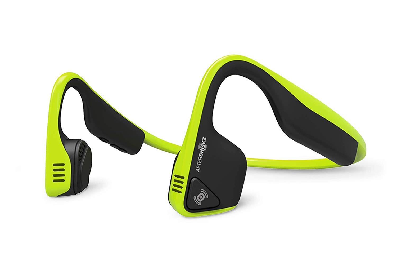 【送料無料】AfterShokz アフターショックス TREKZ TITANIUM Bluetooth 限定品 防水スポーツベルト付き!ライムグリーントレックス タイタニウム ブルートゥース 骨伝導ヘッドホン 骨伝導ワイヤレスヘッドホン ワイヤレス イヤホン 骨伝導 4580207547325
