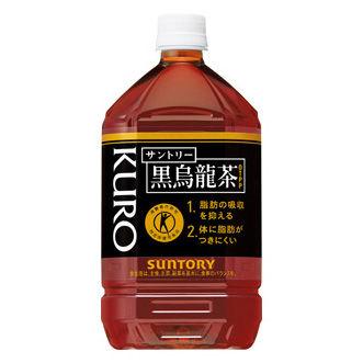 サントリー 黒烏龍茶 (特定保健用食品)  1L×12本 (1ケース) 1ケース【493793】