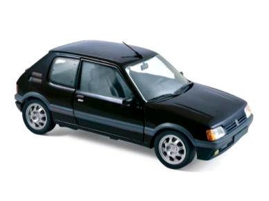 NOREV/ノレブ プジョー 205 GTi 1.9 1988 ブラック【184854】