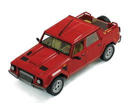 ixo/イクソ ランボルギーニ LM 002 1986 レッド【CLC275】