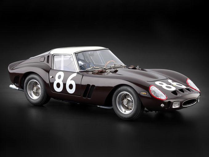 CMC/シーエムシー フェラーリ 250GTO Targa Florio 1962 No.86 CMC/シーエムシー フェラーリ 250GTO Targa Florio 19【M-156】
