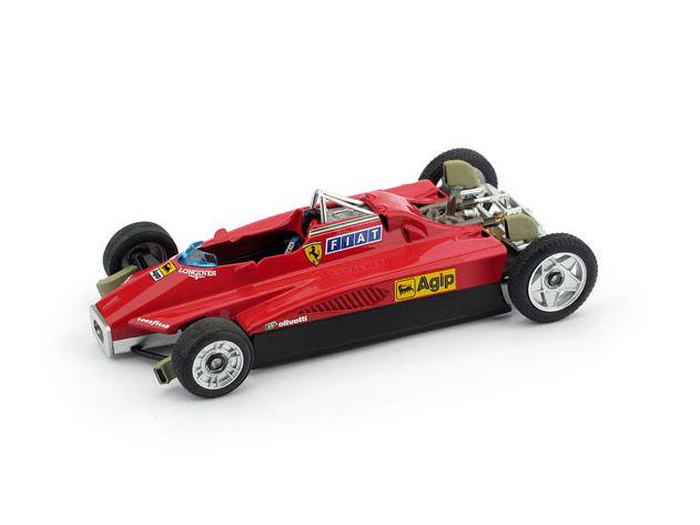 BRUMM/ブルム フェラーリ 126 C2 1982年サンマリノGP Gilles Villeneuve ( T-car ) BRUMM/ブルム フェラーリ 126 C2 1982年サンマリノGP【R267M】