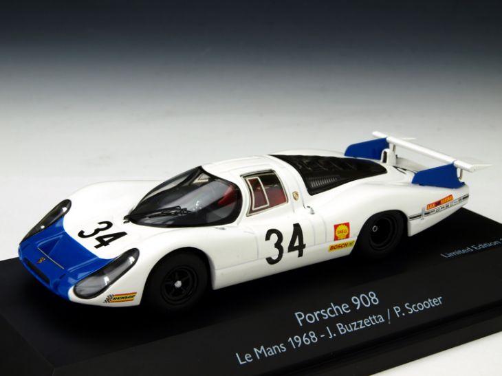 Schuco/シュコー ポルシェ 908 ロングテール 1968年ル・マン24時間 #34 ドライバー:Buzzetta/Scooter Schuco/シュコー ポルシェ 908 ロングテール 1968年【450372000】