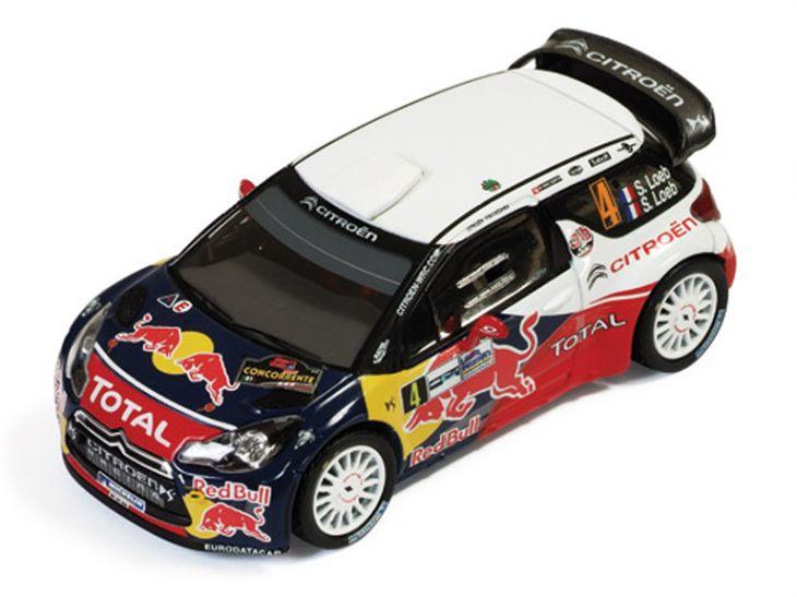 ixo/イクソ シトロエン DS3 WRC 2011年モンツァラリー 優勝 #4 S.Loeb/S.Loeb ixo/イクソ シトロエン DS3 WRC 2011年モンツァラリ【RAM466】