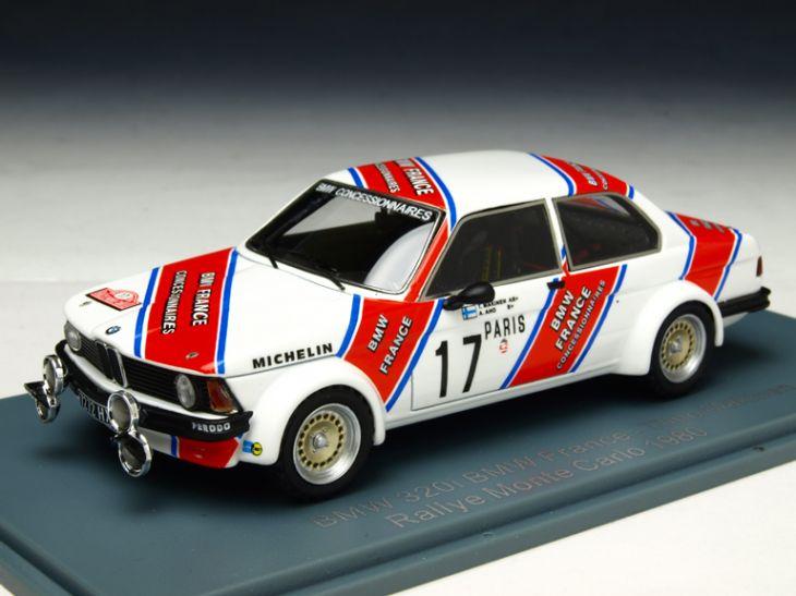 NEO/ネオ BMW 320 GR.2(E21) 1980年モンテカルロラリー Makinen NEO/ネオ BMW 320 GR.2(E21) 1980年モンテカルロラ【NEO45227】