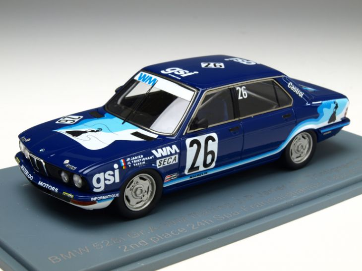NEO/ネオ BMW 528i 1982年スパ・フランコルシャン J-P.Jarier/J-L.Trintignant/T.Tassin NEO/ネオ BMW 528i 1982年スパ・フランコルシャン J【NEO45667】