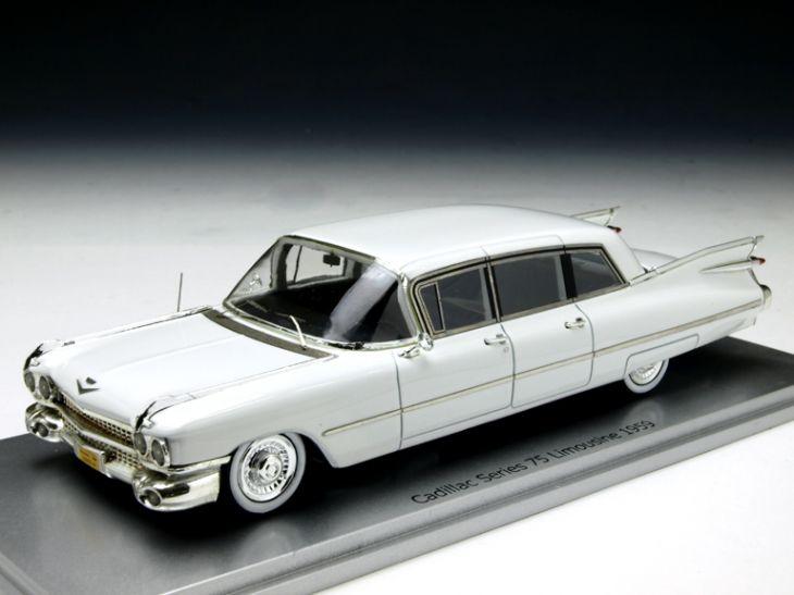 KESS/ケス キャディラック シリーズ75 リムジン 1959 ホワイト KESS/ケス キャディラック シリーズ75 リムジン 195【KE43020001】