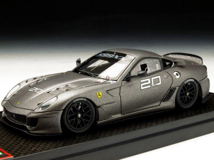 BBR/ビービーアール フェラーリ 599XX ヴァレンシア 10 #20 レヴェントングレー BBR/ビービーアール フェラーリ 599XX ヴァレンシア 10【BBRC42I】