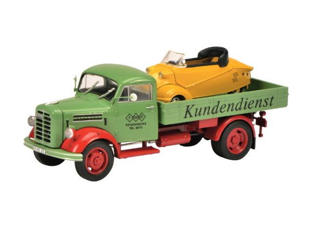 Schuco/シュコー ボルグワルド B2500 Messerschmitt-Service Messerschmitt Kabinenroller Schuco/シュコー ボルグワルド B2500 Messerschmitt-S【450345500】