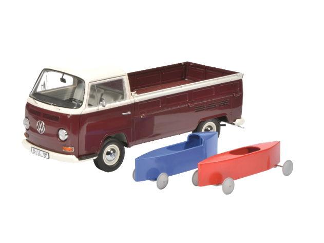 Schuco/シュコー VW T2 ピックアップ ソープボックス付 Schuco/シュコー VW T2 ピックアップ ソープボックス【450018200】