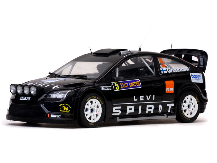 SunStar/サンスター フォード フォーカス RS WRC08 2010年スウェーデンラリー #5 SunStar/サンスター フォード フォーカス RS WRC08【3954】