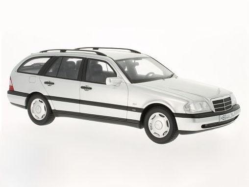 Best of Show / ベストオブショー メルセデス C220 T-Model (S202) 1996 シルバー Best of Show / ベストオブショー メルセデス C220 T-【BOS029】