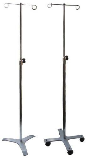 【送料無料】ガートル台(鉄製)  規格:4脚 仕様:キャスター付