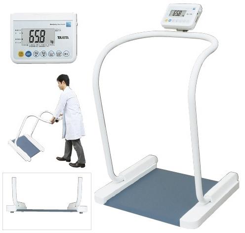 【送料無料】【タニタ】ハンドレール付き体重計(検定品)  規格:RS-232C端子付(PH-550A)