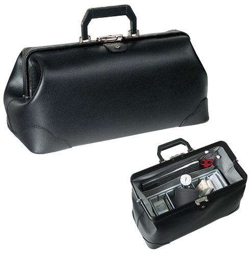 【送料無料】往診鞄 プラクティカス  サイズ:W450×D200×H220mm(1.13.411)