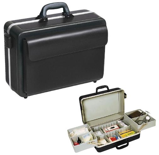 【送料無料】往診鞄 プログレス  サイズ:W460×D200×H330mm(1.23.611)