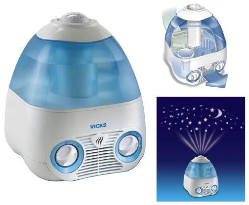 【送料無料】VICKS 気化式加湿器(V3700)