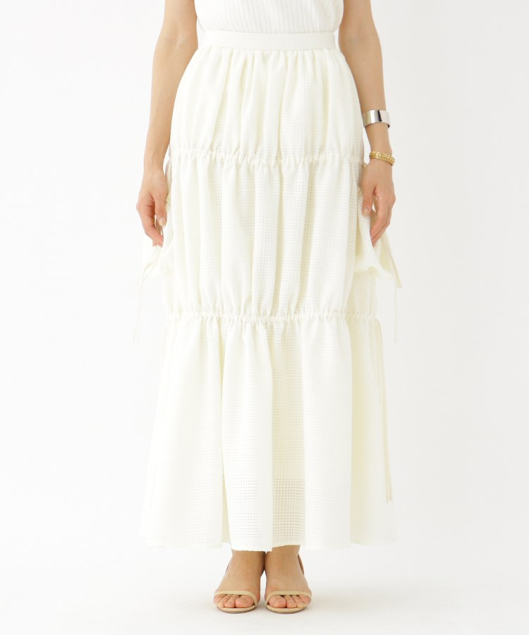 aquagirl(アクアガール)【25th別注】ELINティアードスカート