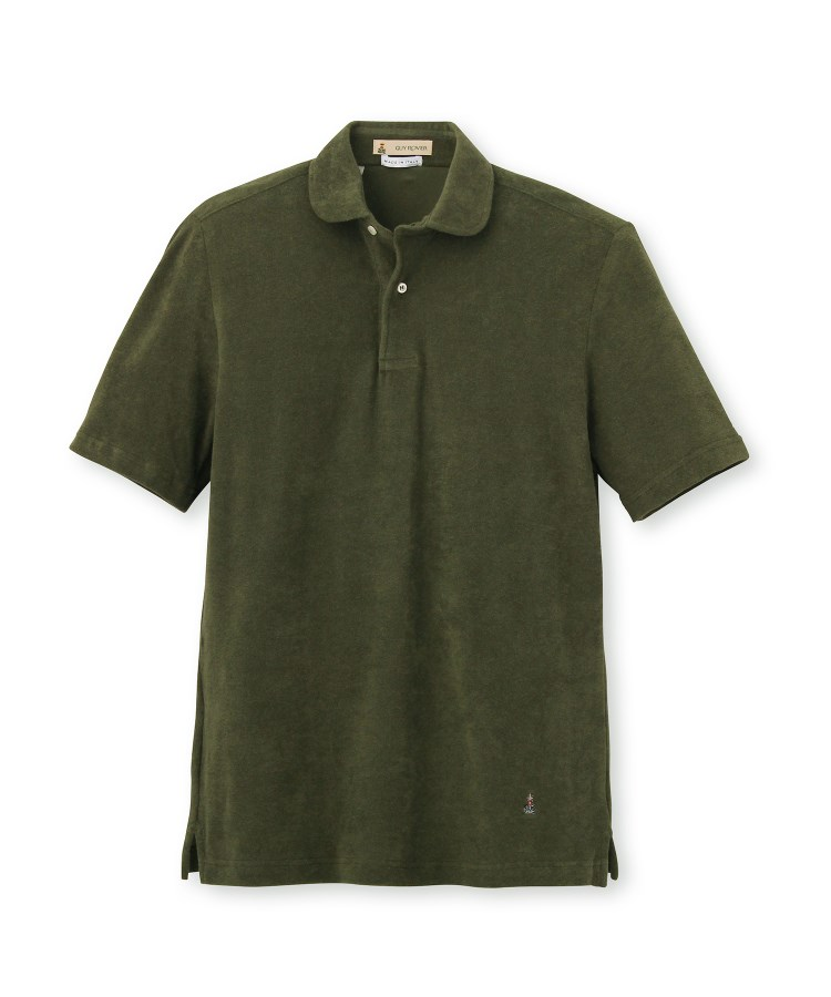 DRESSTERIOR(Men)(ドレステリア(メンズ))GUY ROVER 丸衿シャーリングポロシャツ