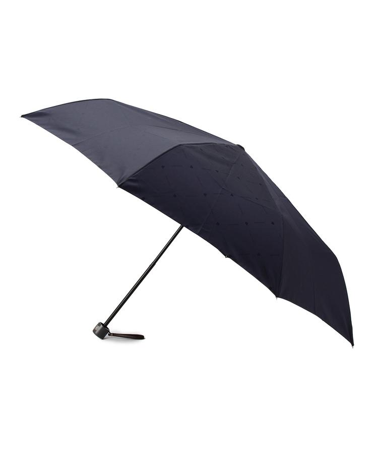 TAKEO KIKUCHI(タケオキクチ)ロゴ耐風 折りたたみ傘
