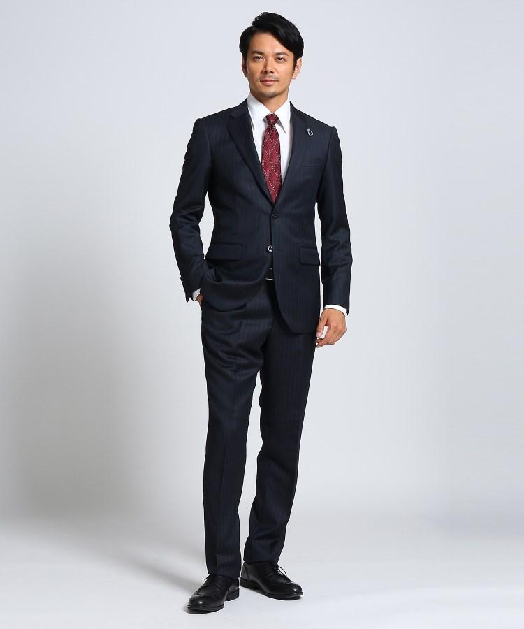 TAKEO KIKUCHI(タケオキクチ)紡縞 スーツ