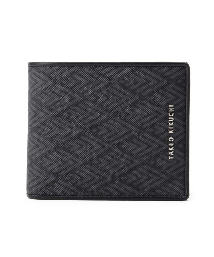 TAKEO KIKUCHI(タケオキクチ)PVC二つ折り財布