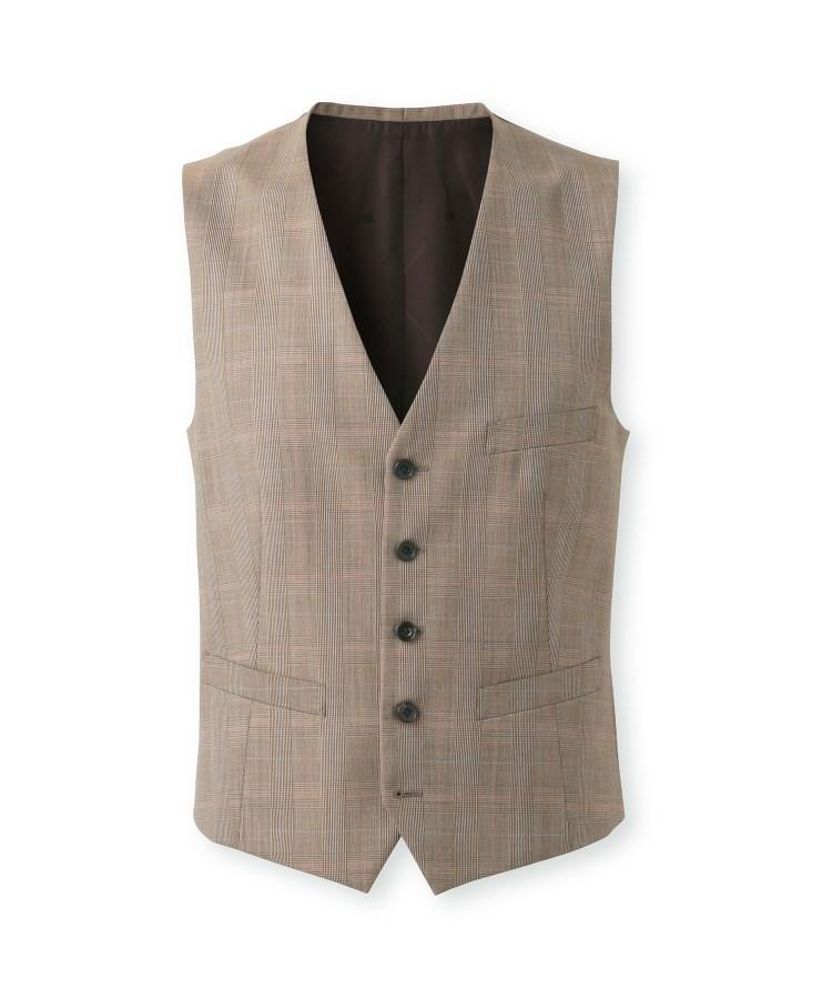 TAKEO KIKUCHI(タケオキクチ)グレンチェックスーツ Fabric by DORMEUIL