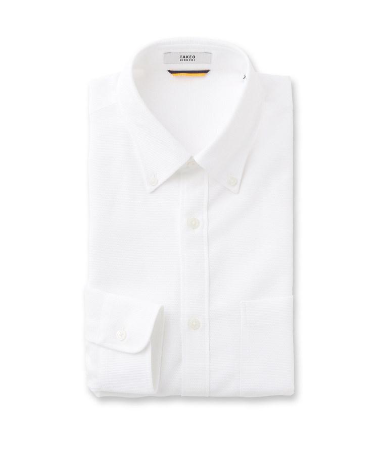 TAKEO KIKUCHI(タケオキクチ)【Sサイズ~】カラミ織りシャツ