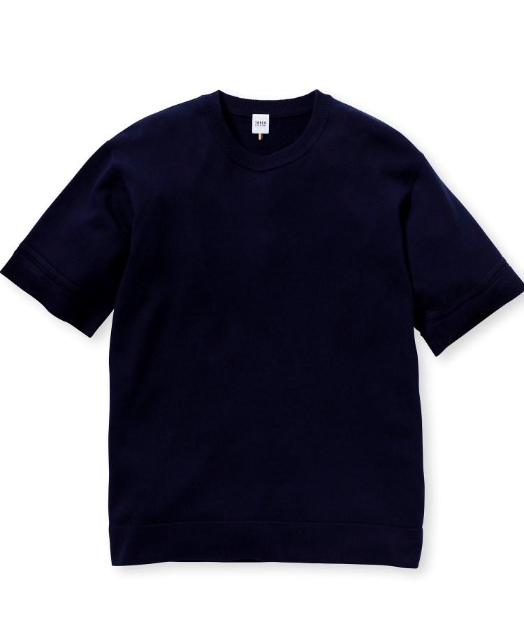 TAKEO KIKUCHI(タケオキクチ)超度詰め天竺 ニットTシャツ