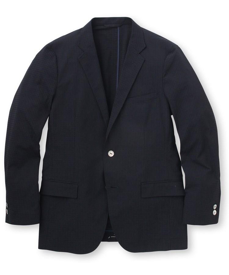 TAKEO KIKUCHI(タケオキクチ)米沢織ストレッチチェックジャケット