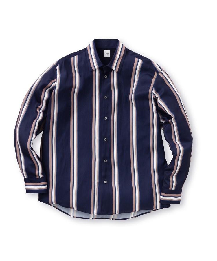 TAKEO KIKUCHI(タケオキクチ)マルチストライプシャツ