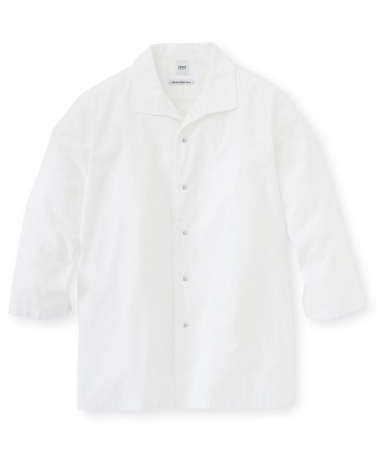 TAKEO KIKUCHI(タケオキクチ)ドビー市松チェックシャツ