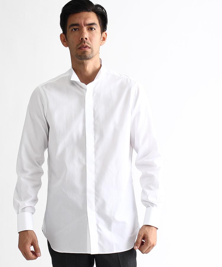TAKEO KIKUCHI(タケオキクチ)120/2ブロードウィングカラーシャツ