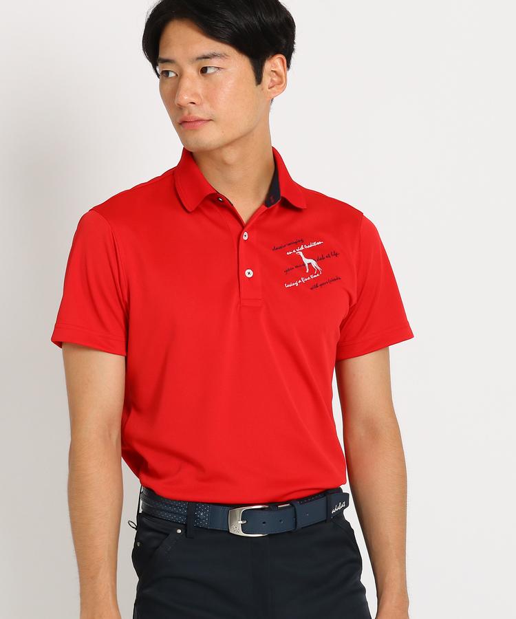 adabat(Men)(アダバット(メンズ))【吸水速乾】カモフラージュ柄 半袖ポロシャツ メンズ