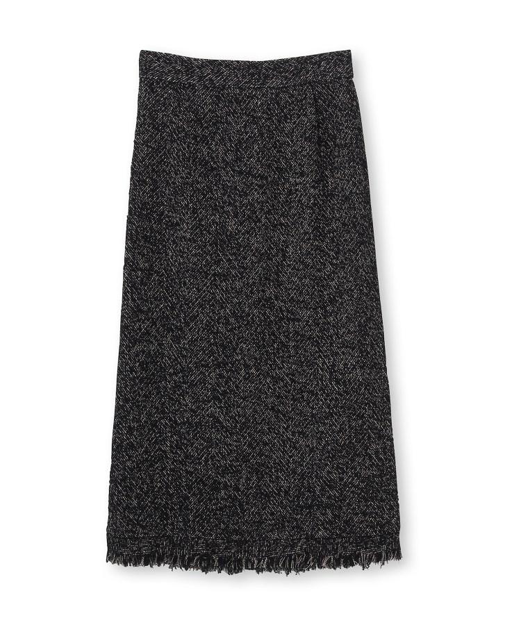 DRESSTERIOR(Ladies)(ドレステリア(レディース))ループツイードフリンジタイトスカート