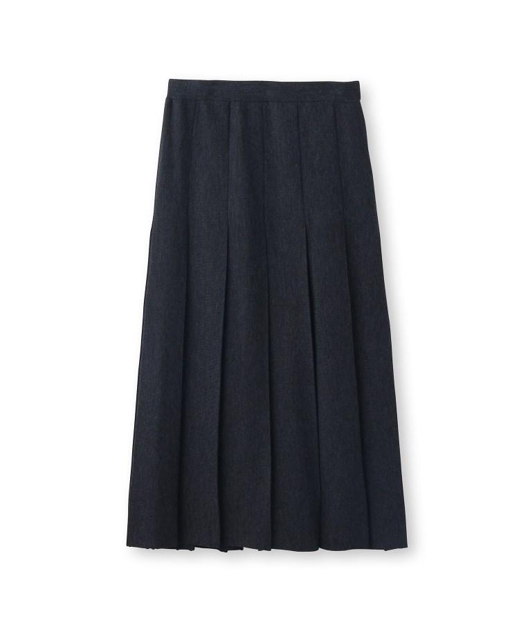 DRESSTERIOR(Ladies)(ドレステリア(レディース))総針ニット プリーツスカート
