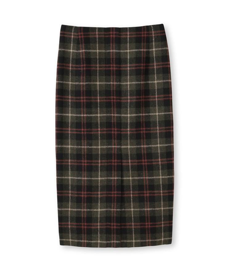 DRESSTERIOR(Ladies)(ドレステリア(レディース))ウールチェックタイトスカート